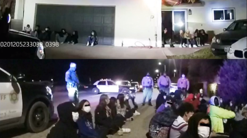 Sheriff's Department Raids Palmdale House Party; 158 Arrested