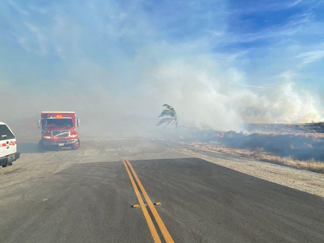 Firefighters Make Headway on Sanderson Fire Near Beaumont