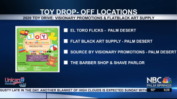 Local Businesses Gather Toys and Funds for Coachella Valley Foster Kids