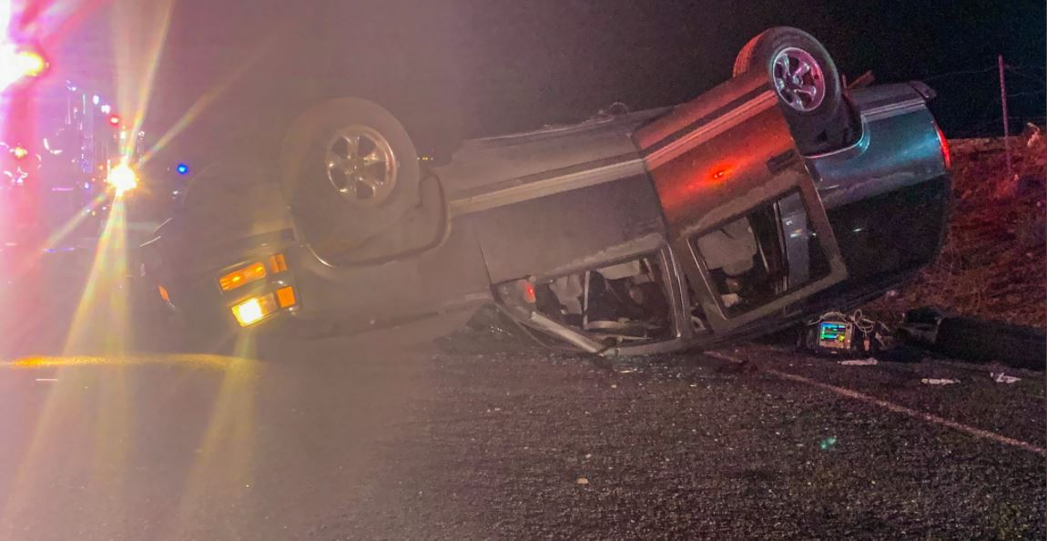 Traffic Alert: Fatal Collision on I-10 EB after SUV overturns