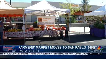 San Pablo Welcomes Palm Desert's Certified Farmers Market