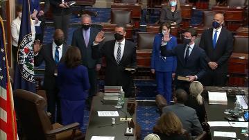 Ex-LA Councilman Padilla Sworn In As US Senator