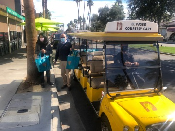 City of Palm Desert Delivers PPE to Businesses on El Paseo