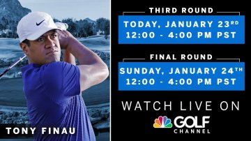 AMERICAN EXPRESS GOLF TOURNAMENT: ROUND THREE RESULTS