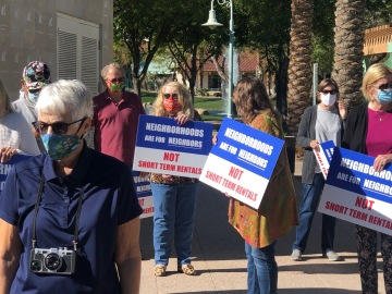 La Quinta Residents Request Extension on Short Term Vacation Rental Moratorium