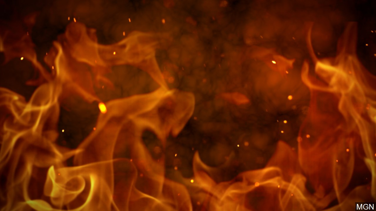 Fire at Mecca Mobile Home Knocked Down in 43 Minutes