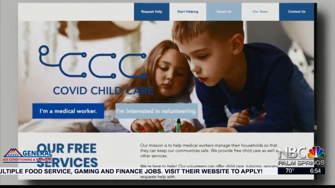 NBCares Silver Linings: COVID Child Care Service