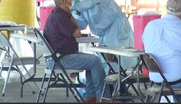 Farmworker COVID-19 Vaccine Clinic in Eastern Coachella Valley