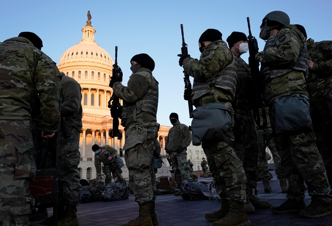 20,000 National Guard Troops Expected in Washington for Biden's Inauguration