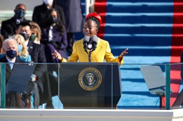 22-Year-Old Los Angeles Poet Reads 'The Hill We Climb' At Inauguration
