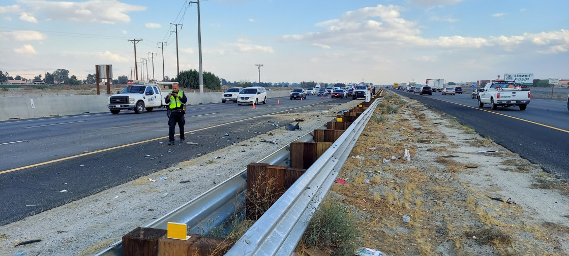 Five-Vehicle Crash on I-10 Causes Traffic Jam