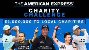 American Express Charity Challenge Results