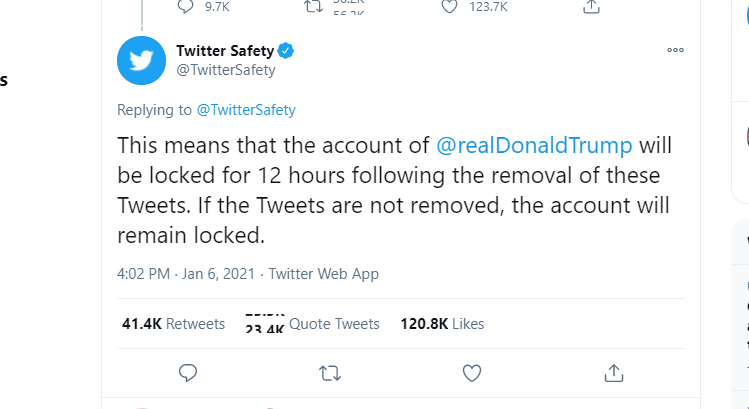 Facebook, Twitter and YouTube take action on President Trump's Posts