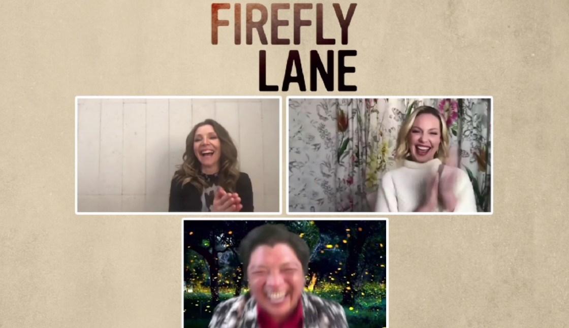 "Katherine Heigl and Sarah Chalke Talk ""Firefly Lane"" with Manny the Movie Guy"