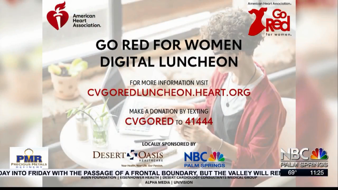 NBCares Silver Linings: American Heart Association Go Red For Women Luncheon