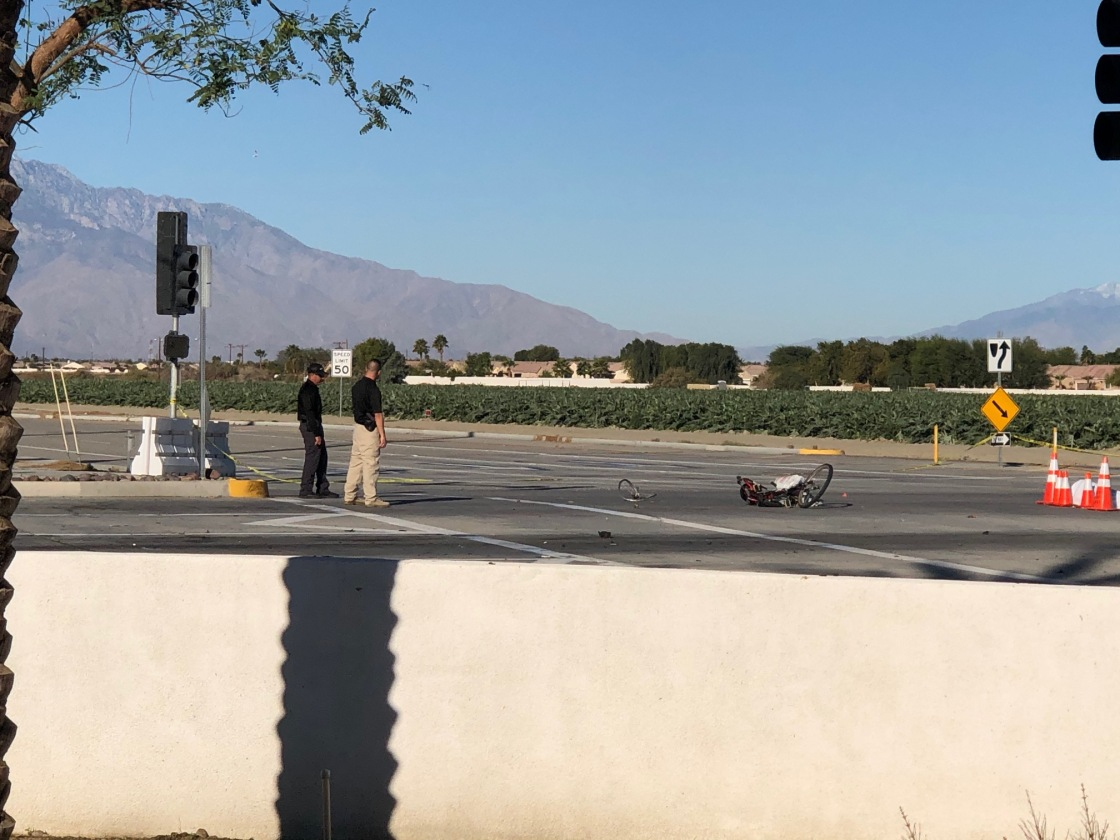 Indio Police Arrest Suspected Hit-and-Run Driver Accused of Killing Bicyclist