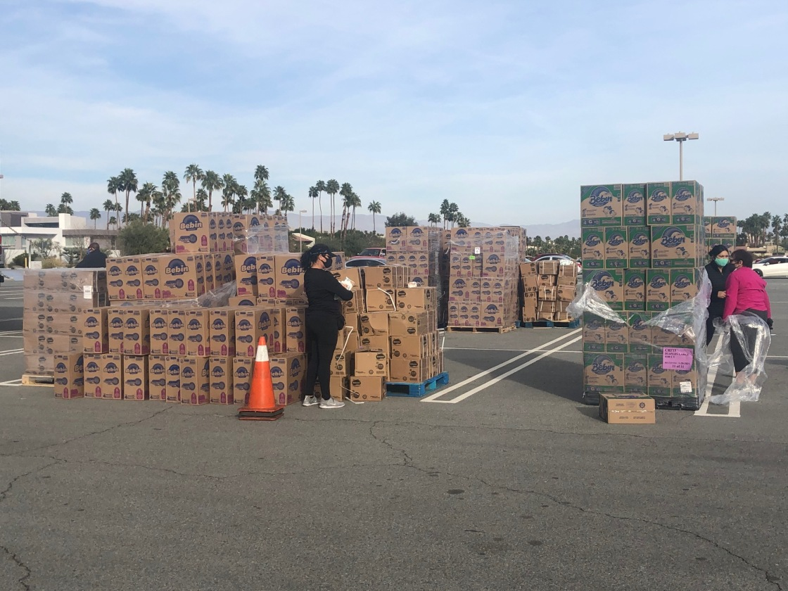 Free Diapers Available at Palm Springs Convention Center Monday