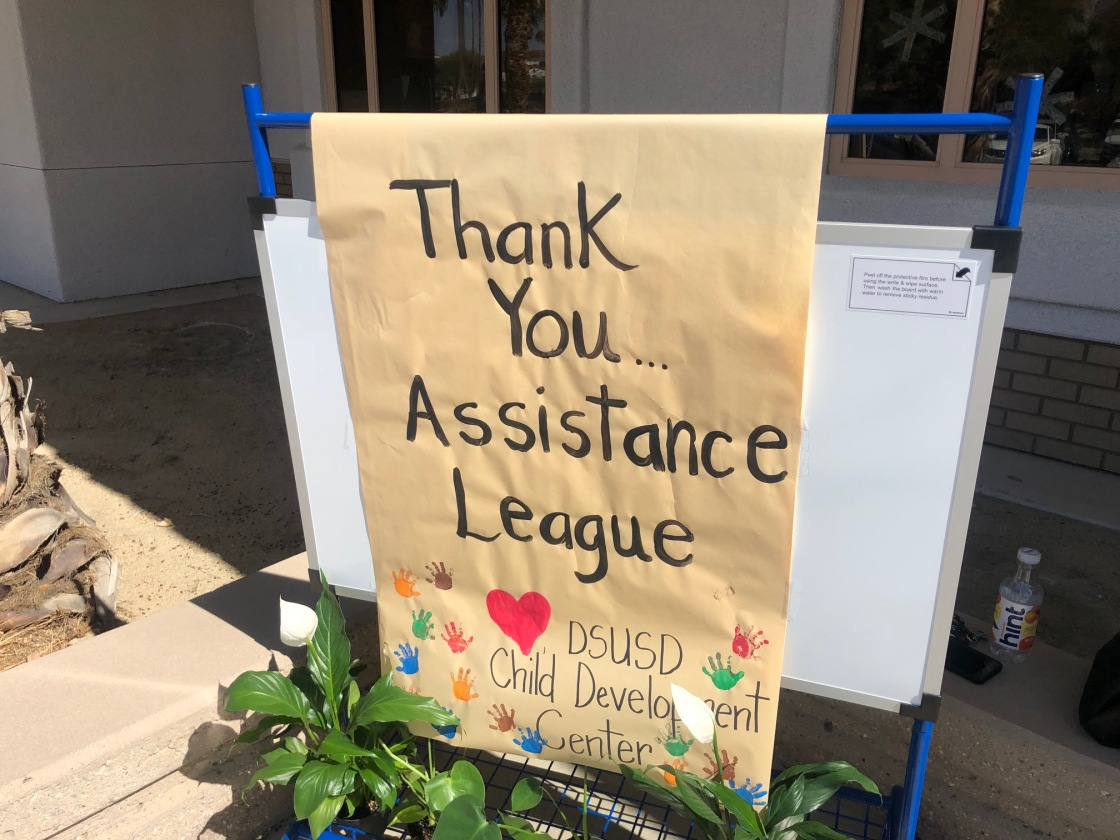 Assistance League Coachella Valley donation drives throughout the valley