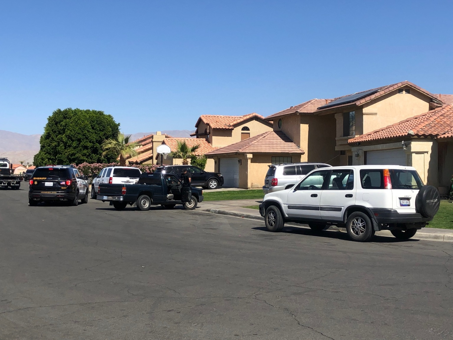 Suspect in custody following pursuit, search in Indio community
