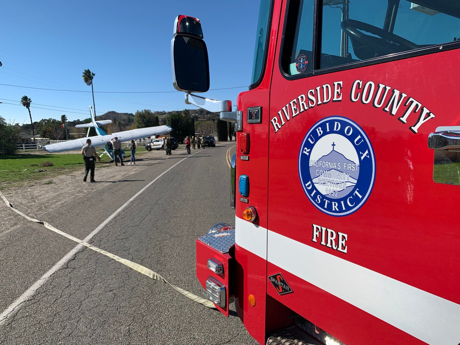 Brush Fire in Anza Threatens Properties Before Crews Contain It