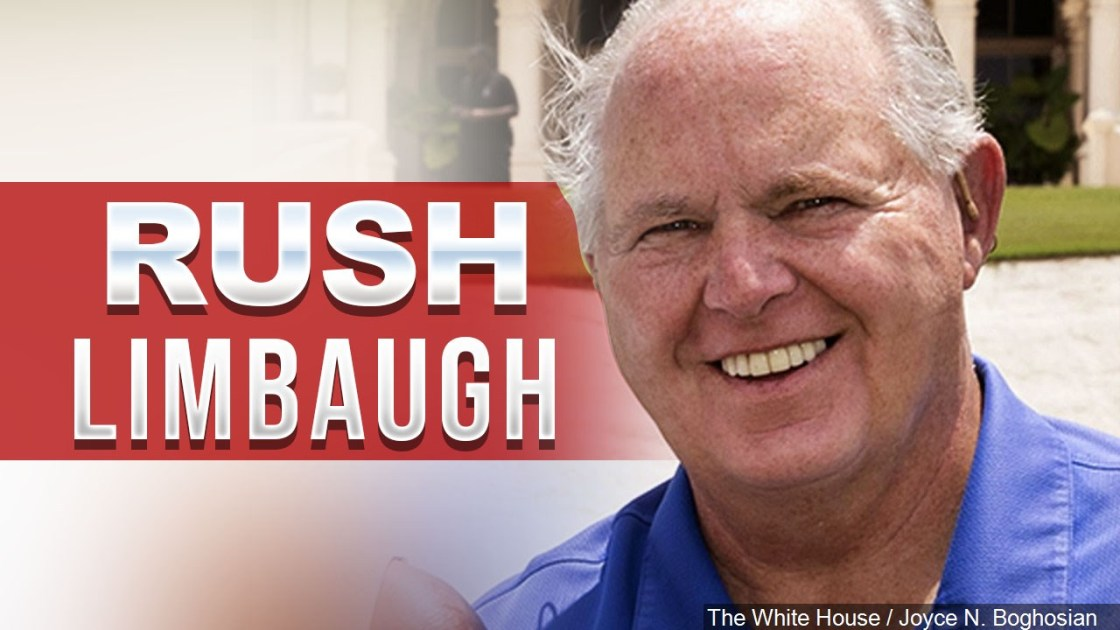 Rush Limbaugh dead at 70 following battle with cancer