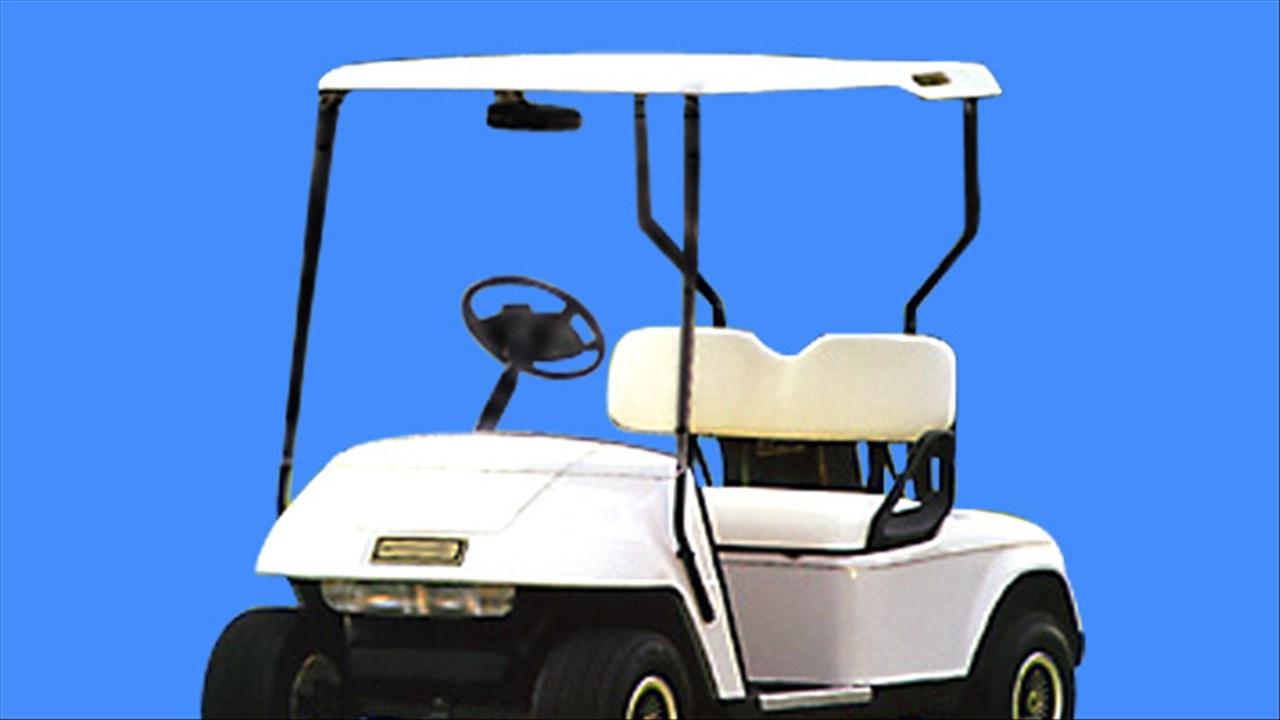 Child Hurt When Golf Cart Flips on Indio Street