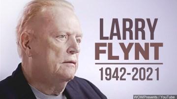 Hustler magazine founder Larry Flynt dead At 78