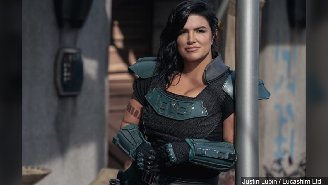 Lucasfilm fires 'The Mandalorian' star Gina Carano after offensive social media posts