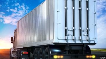 Trucker Hurt in Big Rig Collision Near Mecca