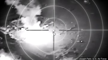 US carries out air strikes in Syria targeting Iranian backed militia structures