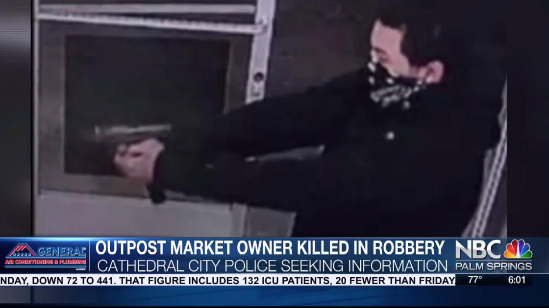 Investigation Continues Into Deadly Market Robbery in Cathedral City