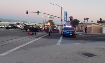 Suspect yet to be identified in Indio hit-and-run crash