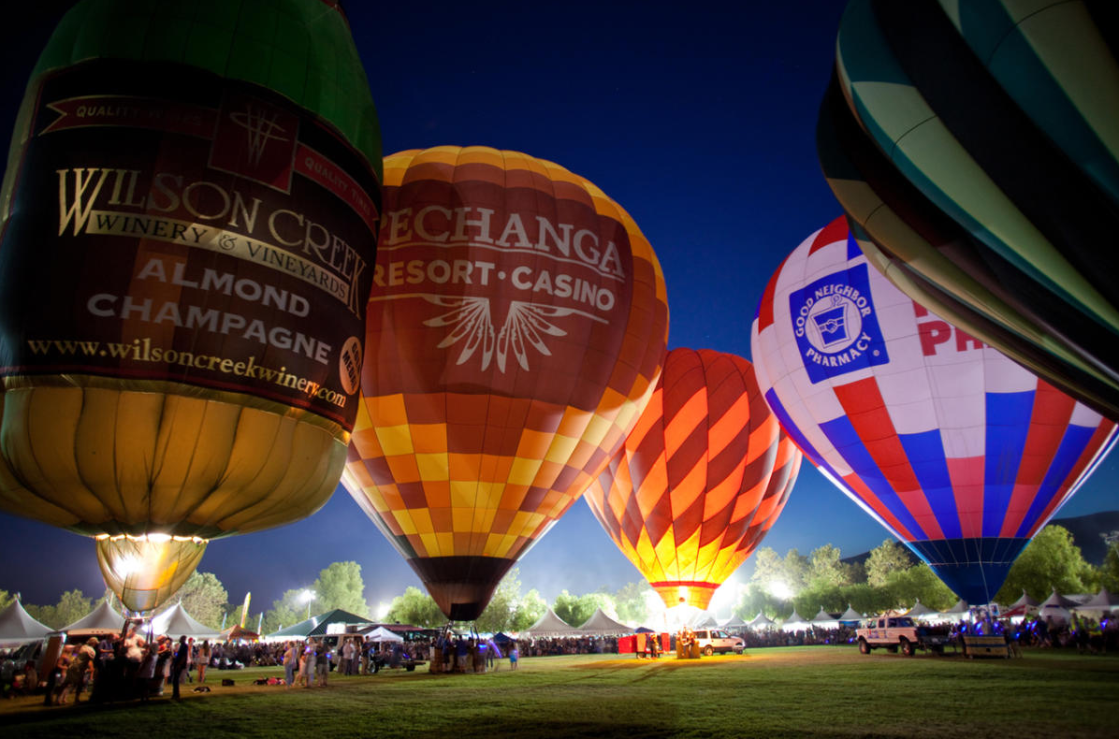 2021 Temecula Valley Balloon & Wine Festival Canceled