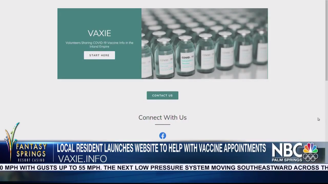 Local Resident Launches Website To Help Book Vaccine Appointments