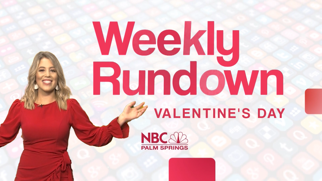 Weekly Rundown: Valentine's Day Edition