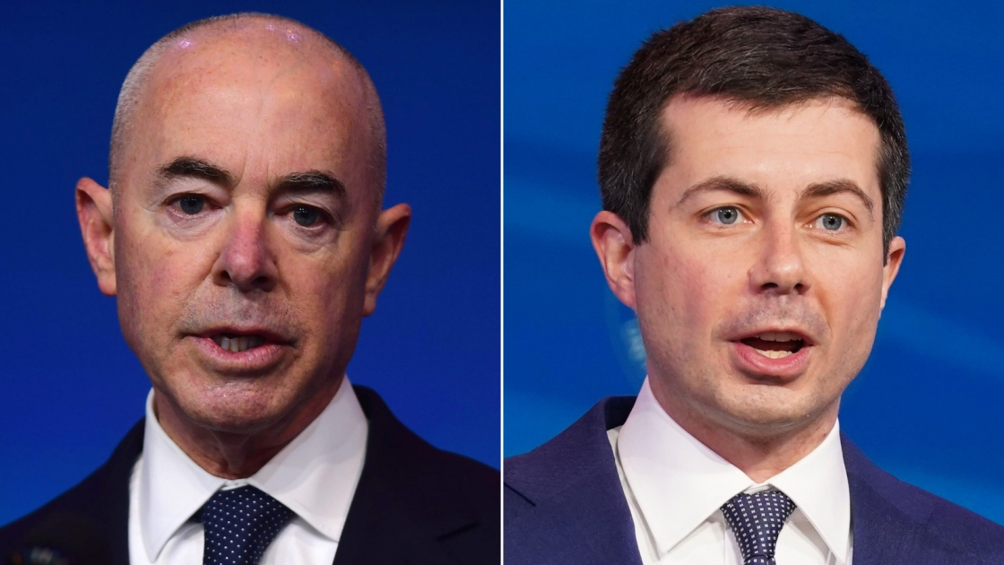 Senate confirms Alejandro Mayorkas to lead Homeland Security and Pete Buttigieg as transportation secretary