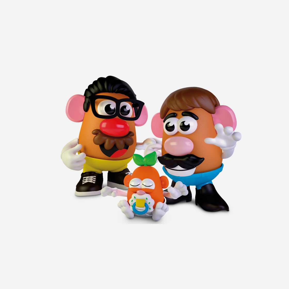 """Mr. and Mrs. Potato Head brand to be called just """"Potato Head"""""""