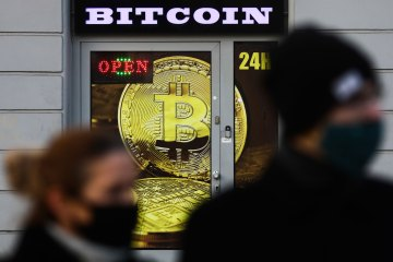 Bitcoin soars past $50,000 for the first time