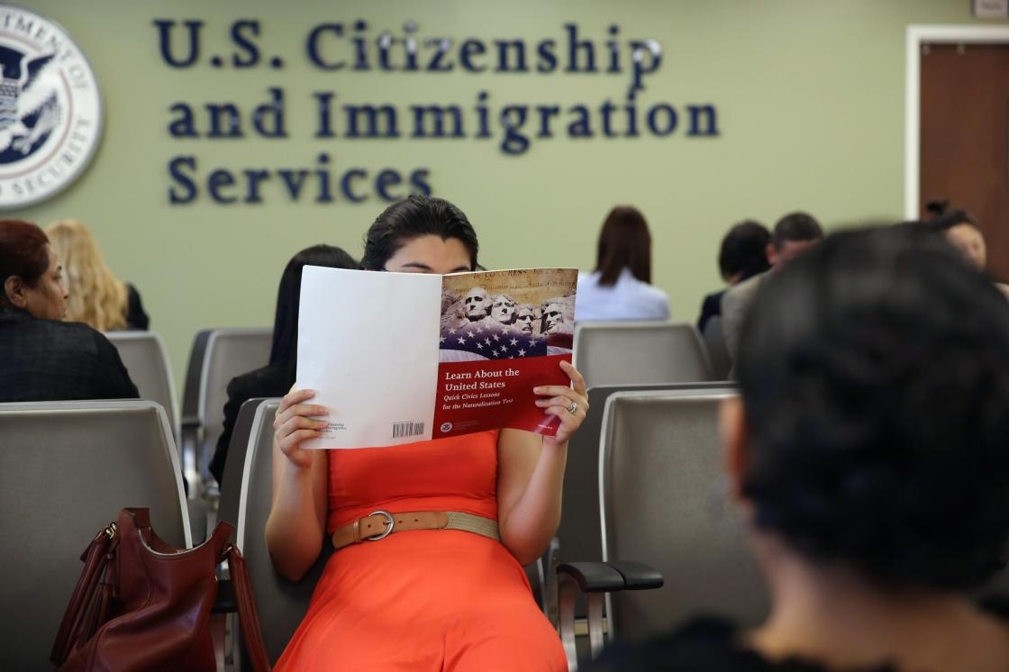 Biden administration rolls back Trump-era citizenship civics test