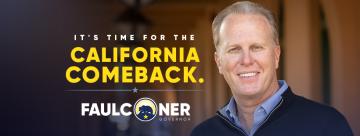 Former San Diego Mayor Kevin Faulconer Announces Gubernatorial Run