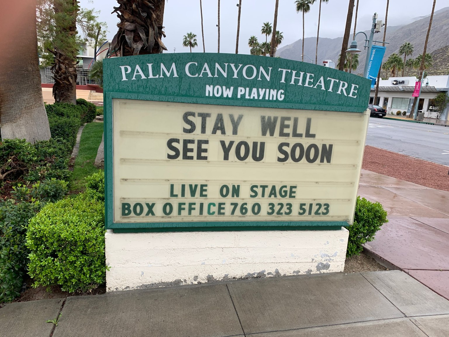 """""""From Broadway with Love… Backwards""""A Palm Canyon Theatre Virtual Concert"""