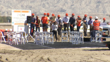 Ground breaks on next stage of CV Link construction