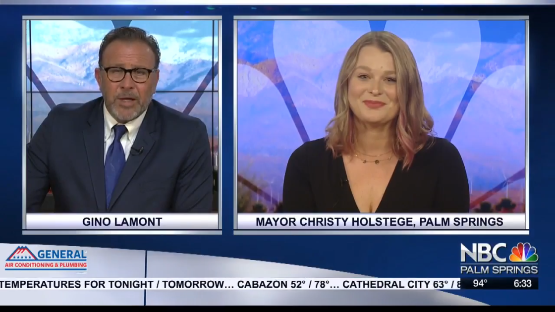 Interview: Palm Springs Mayor Christy Holstege on coronavirus response in the City