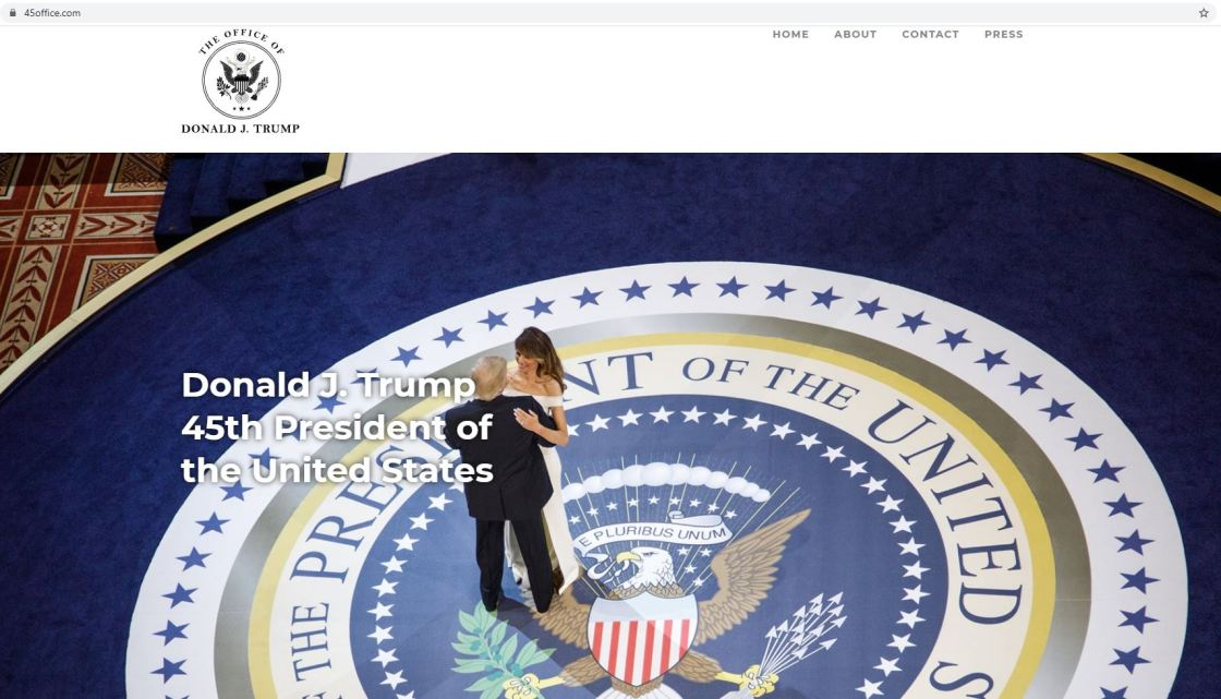 Trump launches a new website