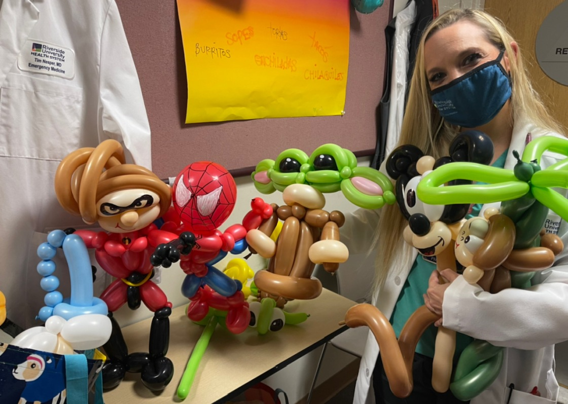 ER Doctor's Balloon Art is Medicine for the Soul