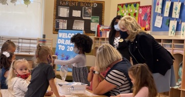 First Lady Makes Twentynine Palms Last Stop to Visit Military Families