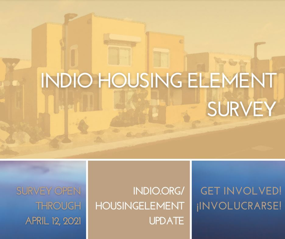 Input Needed in Indio 'Master Plan' for Housing