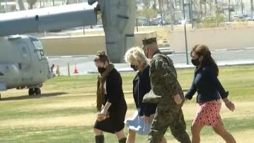 First Lady Jill Biden visiting Twentynine Palms Military Base Wednesday