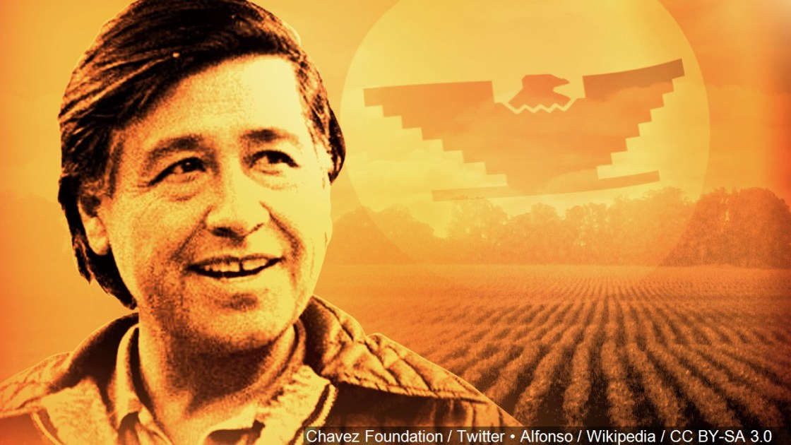 It's Cesar Chavez Day!
