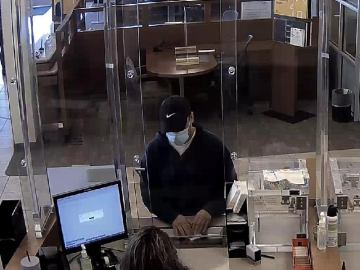 Palm Springs Police Search For Suspected Bank Robber